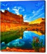 Canyon Glories Canvas Print