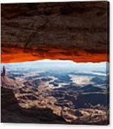 Canyon Glow Canvas Print
