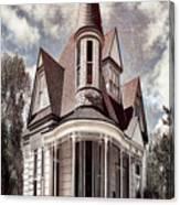 Canyon Home 2 Canvas Print