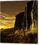 Canyon Hunt Canvas Print