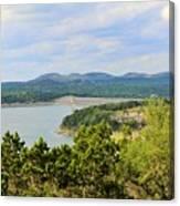 Canyon Lake Dam Canvas Print