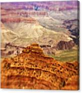 Canyon Peak Canvas Print