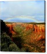Canyon Rainbow Canvas Print