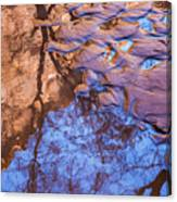 Canyon Reflections Canvas Print