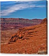 Canyon Rim Canvas Print