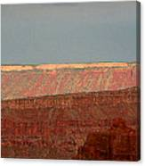 Canyon Rims Canvas Print