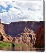 Canyon Rocks Canvas Print