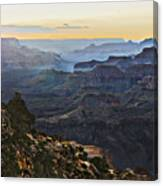 Canyon Sundown Canvas Print
