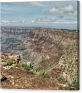 Canyon View From Navajo Point Canvas Print
