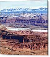 Canyonland Panorama Canvas Print