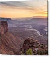 Canyonlands Sunrise Canvas Print