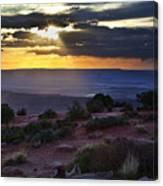 Canyonlands Sunset Canvas Print