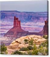 Canyonlands Utah Views Canvas Print