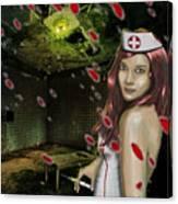 Caotic Nurse Canvas Print