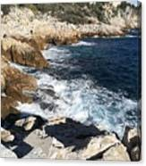 Cap De Nice Canvas Print