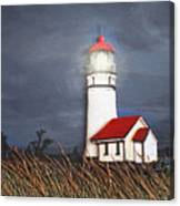 Cape Blanco Glow Canvas Print