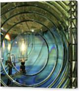 Cape Blanco Lighthouse Lens Canvas Print