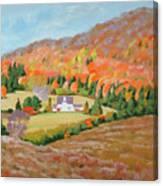 Cape Breton Home Canvas Print