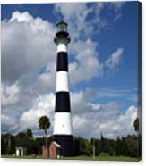 Cape Canaveral Light Florida Canvas Print