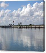 Cape Canaveral Locks In Florida Canvas Print
