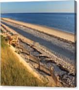 Cape Cod Bay Beach Truro Canvas Print