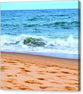 Cape Cod Beach Day Canvas Print