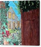 Cape Cod Cottage Canvas Print
