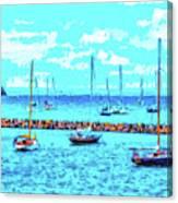 Cape Cod - Sailing Mecca Canvas Print