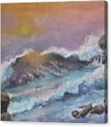Cape Cod Waves Canvas Print