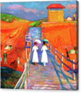 Cape Code Pier Canvas Print