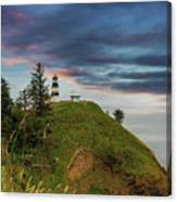Cape Disappointment After Sunset Canvas Print