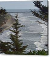 Cape Disappointment Beach Canvas Print