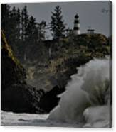 Cape Disappointment Finale Canvas Print