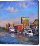Cape Fear Afternoon Canvas Print