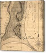 Cape Florida 1765 Canvas Print
