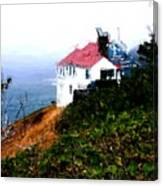 Cape Foulweather Canvas Print