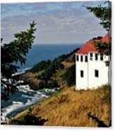 Cape Foulweather Point Canvas Print