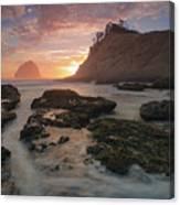 Cape Kiwanda At Sunset Canvas Print