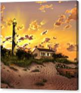 Cape Lookout Lighthouse 2 Canvas Print
