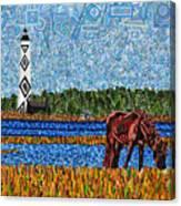 Cape Lookout Canvas Print