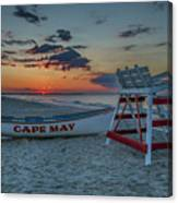 Cape May At Sunrise - Cape May New Jersey Canvas Print