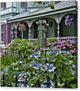 Cape May House And Garden. Canvas Print