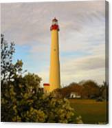 Cape May Lighthouse In Spring Canvas Print