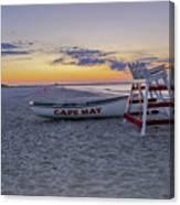 Cape May Mornings Canvas Print