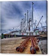 Cape May Scallop Fishing Boat Canvas Print