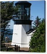 Cape Meares Lighthouse Li 100 Canvas Print