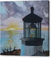 Cape Meares Lighthouse Oregon  Canvas Print