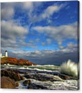 Cape Neddick Lighthouse Canvas Print