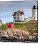 Cape Neddick Nubble Lighthouse I Canvas Print