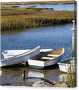 Cape Rowboats Canvas Print
